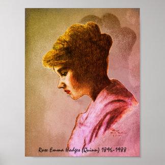 Rosa Emma Hodges Quinn affisch