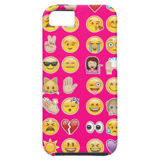 rosa emoji iPhone 5 Case-Mate fodraler