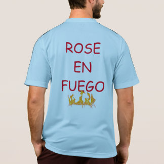 ROSA EN FUEGO T-SHIRT