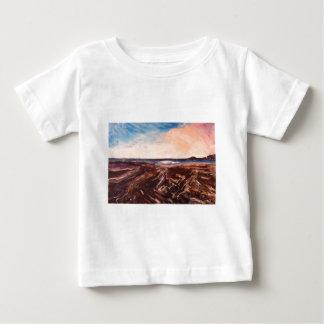 Rosa engelsk olja för den sjösidaNorthumbrian Tshirts