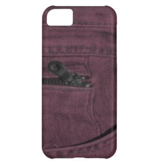 Rosa fick- Jean Zipper iPhone 5C Fodral