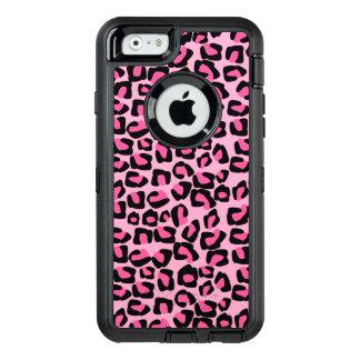 Rosa fläckar OtterBox defender iPhone skal