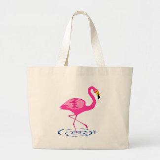 Rosa Flamingo Jumbo Tygkasse