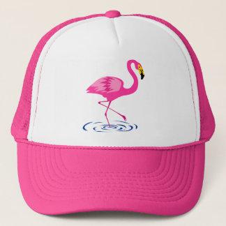 Rosa Flamingo Keps