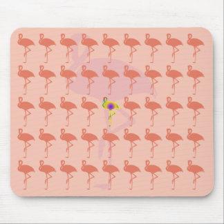 Rosa Flamingo Mousepad Musmatta