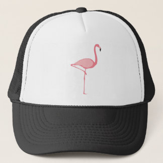 Rosa Flamingo Truckerkeps