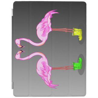 Rosa Flamingos för rolig tecknad som ha på sig iPad Skydd