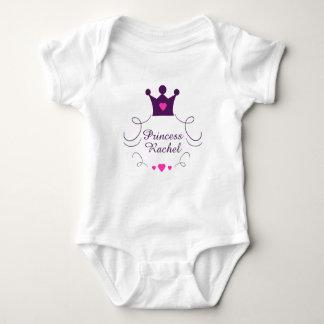 Rosa flickaPrincess Kröna Tiara Royalty Hjärta Tee Shirts