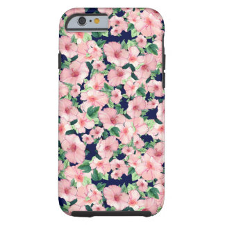 Rosa fodral för blommigt iPhone6 Tough iPhone 6 Case