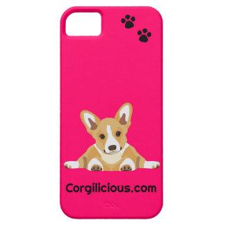 Rosa fodral för CorgivalpiPhone 5 iPhone 5 Hud