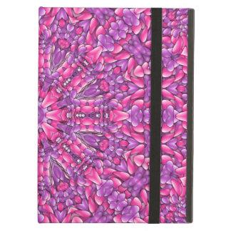 Rosa för iPadluft för n purpurfärgade fodral
