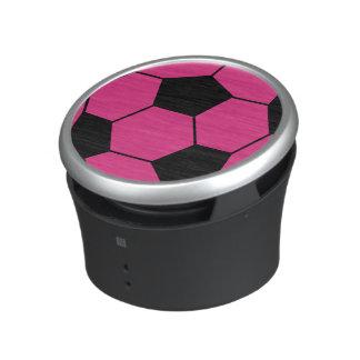 Rosa fotbollbollhögtalare bluetooth högtalare