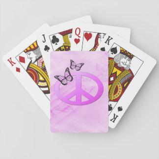 Rosa fred spelkort