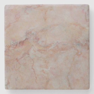 Rosa fullföljande för sten för laxkorallmarmor underlägg sten
