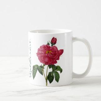 Rosa Gallica Kaffemugg