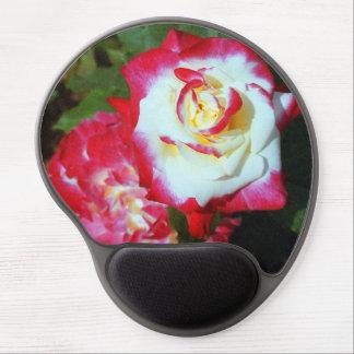 Rosa Gel Mousepad för dubbel fröjd Gelé Mus-mattor