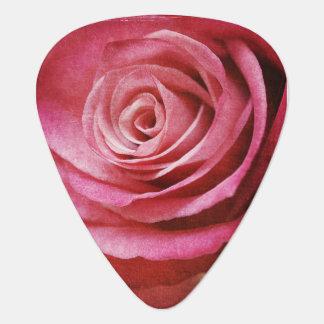 Rosa gitarrplockor plektrum