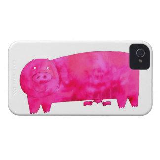 Rosa gris med Piglets Case-Mate iPhone 4 Case