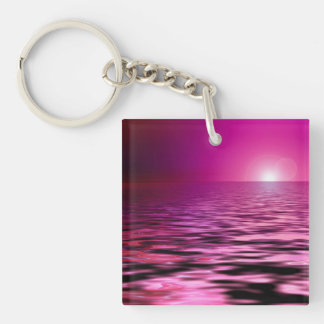 """""""Rosa hav"""" Keychain"""