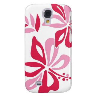 Rosa hawaiansk iphone case 3G Galaxy S4 Fodral