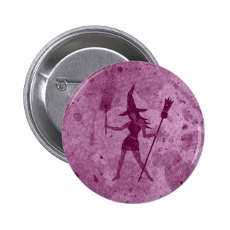 Rosa häxa standard knapp rund 5.7 cm
