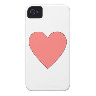 Rosa hjärtaanpassade iPhone 4 Case-Mate case