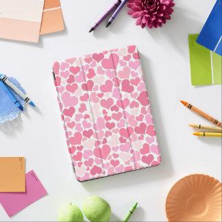 Rosa hjärtamönster - ipad cover iPad air skydd