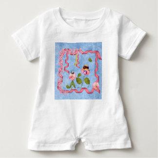Rosa humoristiska söta ärtor & Mauve T-shirts