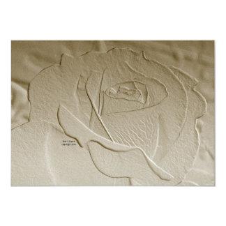 Rosa inbjudan för urblektt guld
