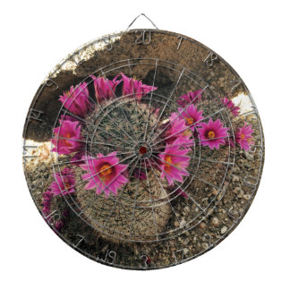 Rosa kaktus i blom darttavla