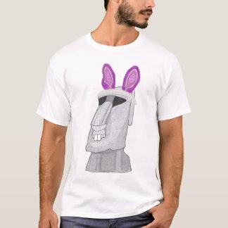 Rosa kanin för påsk (ön) t-shirt