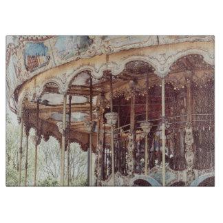Rosa karusell i Paris, frankrike, Trocadero