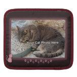 Rosa kattungefotoipad sleeve iPad sleeve
