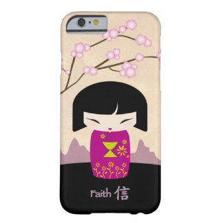 Rosa kokeshi - tro barely there iPhone 6 fodral