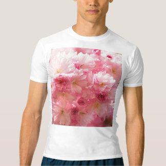Rosa körsbärsröd blommar tröja