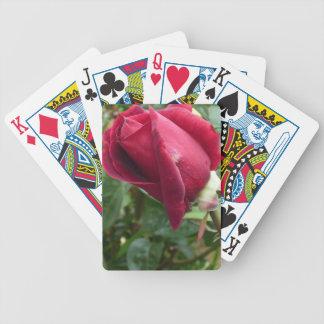 Rosa kortdäck för Tea Spelkort