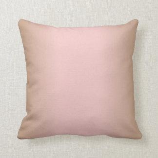 Rosa kvartar och Iced brunt för kaffeOmbre rosor Prydnadskudde