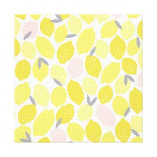 Rosa Lemonade vid kanfas för tryck för Origami Canvastryck