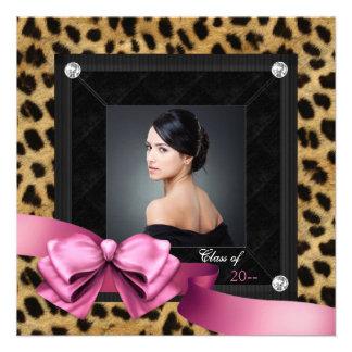 Rosa Leopardfototillkännagivande för studenten