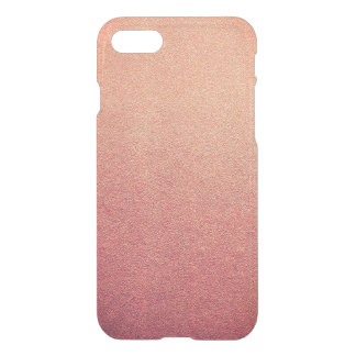 Rosa Look för Sand för YarrowOmbre glitter iPhone 7 Skal