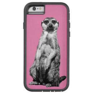 Rosa Meerkat Tough Xtreme iPhone 6 Case