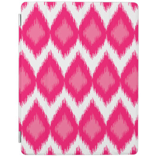 Rosa mönster för Ikat stilväv iPad Skydd