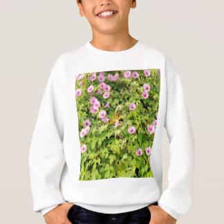 Rosa morgonhärligheter Bush Tshirts