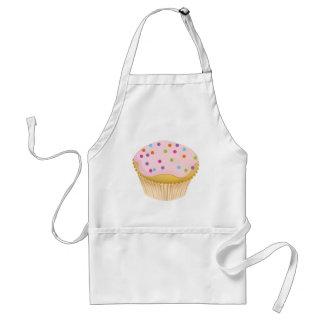Rosa muffin förkläde