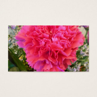 Rosa nejlika visitkort