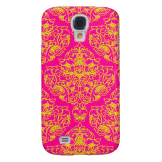 Rosa neon galaxy s4 fodral