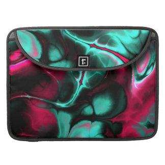 Rosa- och för krickaabstraktdesign Macbook sleeve MacBook Pro Sleeve