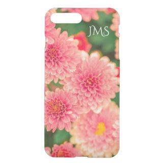 Rosa- och gröntblommigt iPhone 7 plus skal