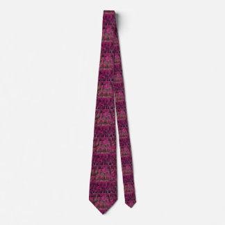 Rosa och svart geometrisk Tie Slips