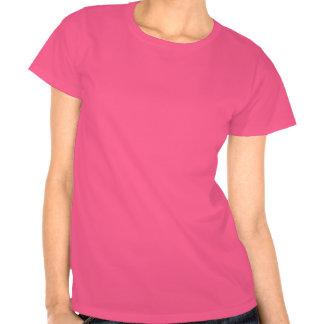 (Rosa och svart) möhippat-skjorta, Tee Shirt